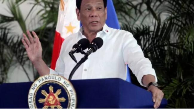 菲律宾总统:会把南海裁决扔到废纸篓