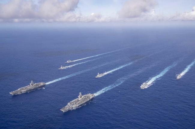 史上最好战的美军 正在诱引解放军步入陷阱