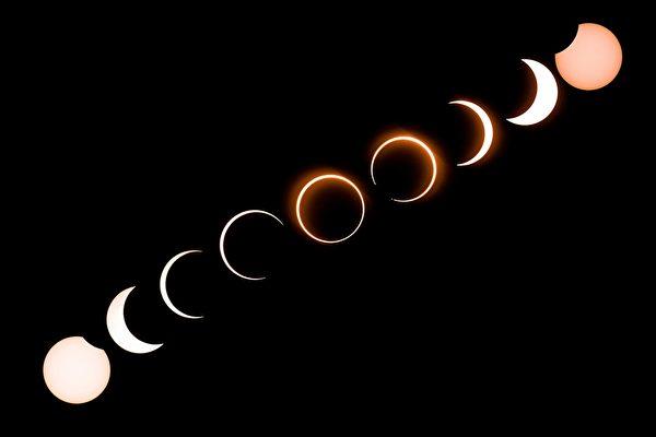 火环日食周四登场 NASA提醒如何观看