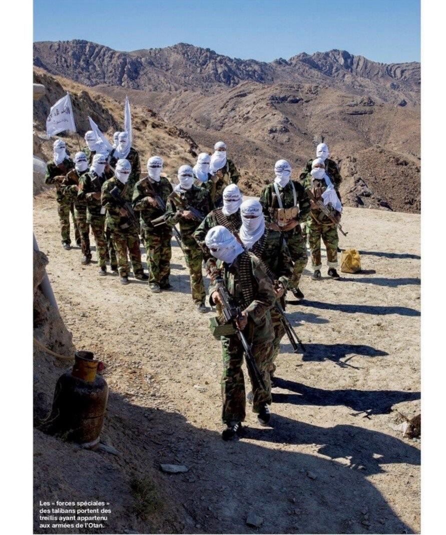 ▲▼南韓預備役的舊款戰鬥服受到塔利班青睞。(圖/翻攝自韓網)