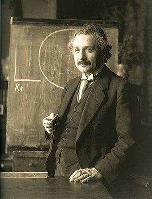 物理學家愛因斯坦(Albert Einstein)。圖:翻攝自維基百科(資料照)
