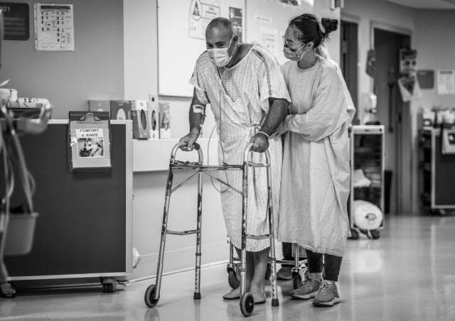 icu health-care worker