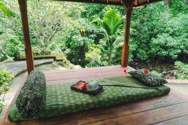 印尼巴厘岛的按摩室