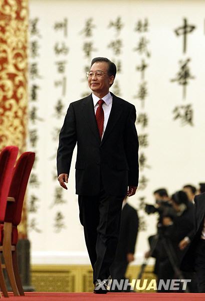 (图文)最会说话的总理 温家宝答记者问全文
