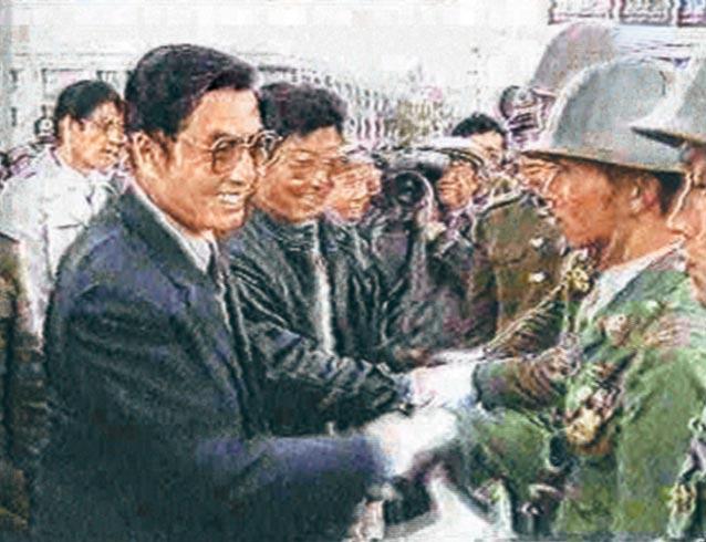胡锦涛危急关头用枪杆子说话 世界震惊