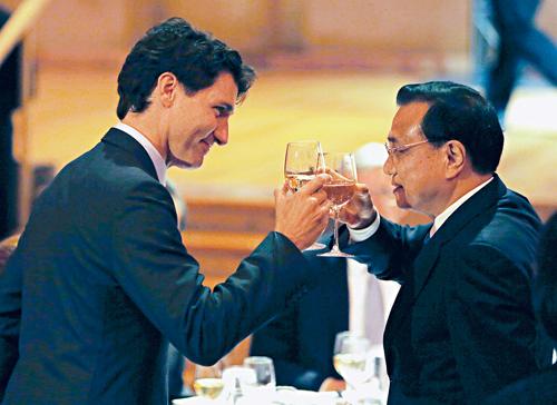 中加总理会谈最后1分钟 解决了这个危机