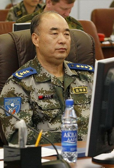 空军上将许其亮:中国新国防部长候选人
