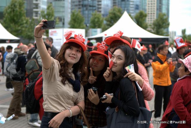 (组图)看看温哥华人如何欢庆国庆144周年(下)