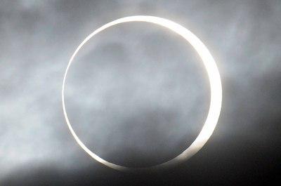 罕见奇观!亚洲和北美部分地区竟都能见日环食