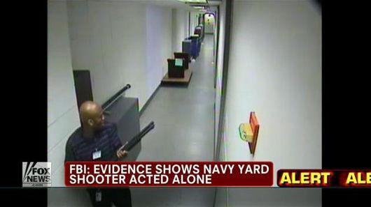 枪手直捣美国海军工厂狙杀12人画面曝光