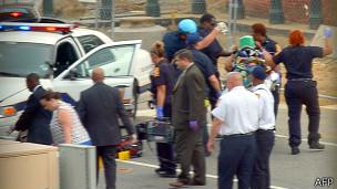 美国国会山枪击女嫌犯被击毙  警官受伤