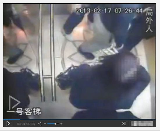 李天一同案律师曝光事发当晚电梯监控视频