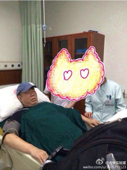 陈凯歌赴院治疗插氧管 心脏病发作?