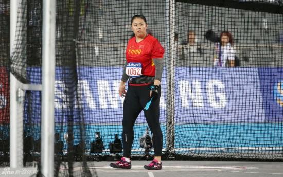 中国女子链球名将涉兴奋剂 金牌收回
