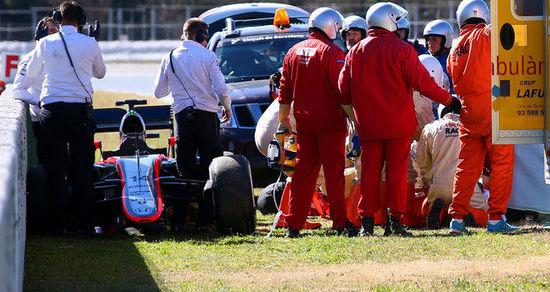 F1赛车手阿隆索车祸后 记忆回到20年前
