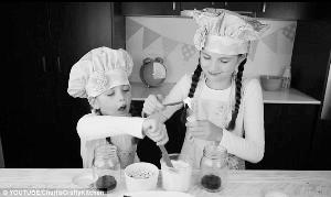 8岁女孩网上教烹饪 月收入超79万