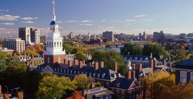 哈佛大学遭指控  招生实际上有种族配额