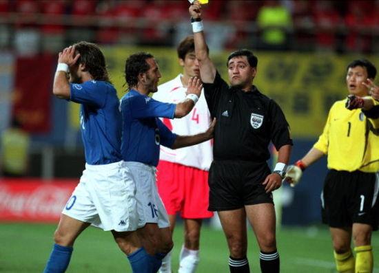 国际足联太腐败 韩世界杯假球做掉意大利