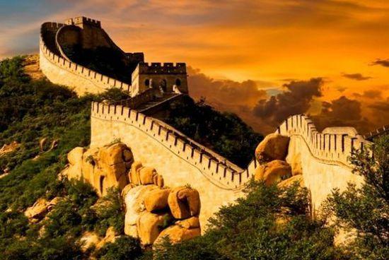 外国人最心仪的中国景点 英国爱长城