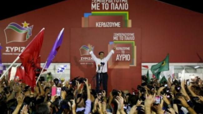 """齐普拉斯称赞希腊大选是""""人民的胜利"""""""