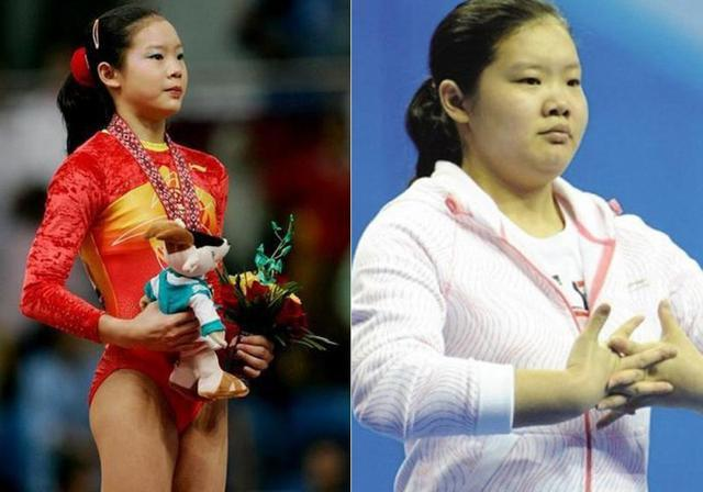 悲惨啊 美女体操世界冠军发福成这样