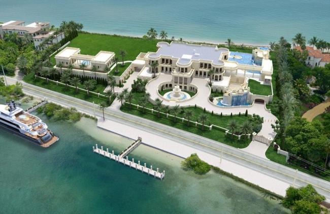 美最贵别墅欲卖1.6亿美刀  内有6瀑布
