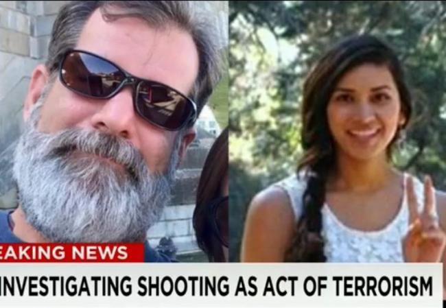 加州枪案震撼一幕 男同事舍身为她挡子弹