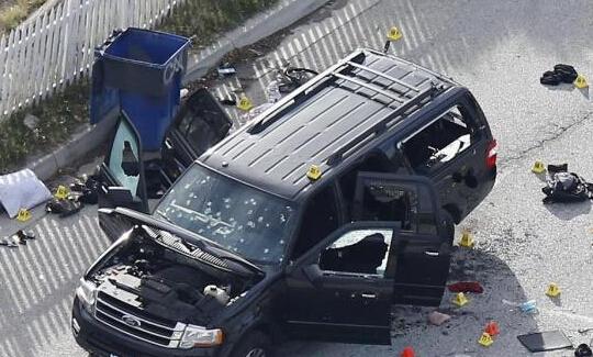 加州枪手夫妻下葬 多名穆斯林拒绝出席