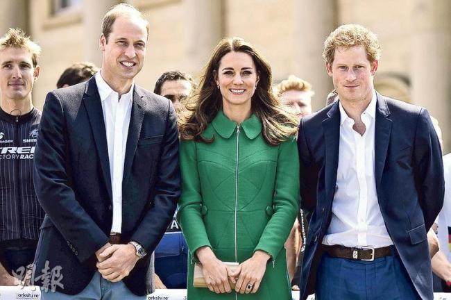 威廉王子:怕看不到子女长大