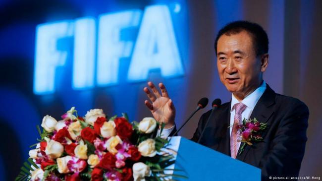 丑闻当机遇 万达成FIFA顶级赞助商