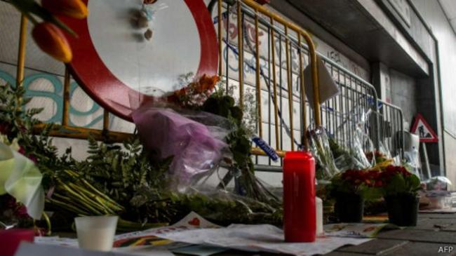 一中国公民在布鲁塞尔转机 遇难