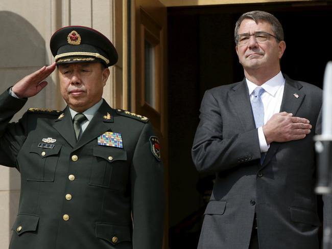 范长龙南海亮剑   北京不惧一战