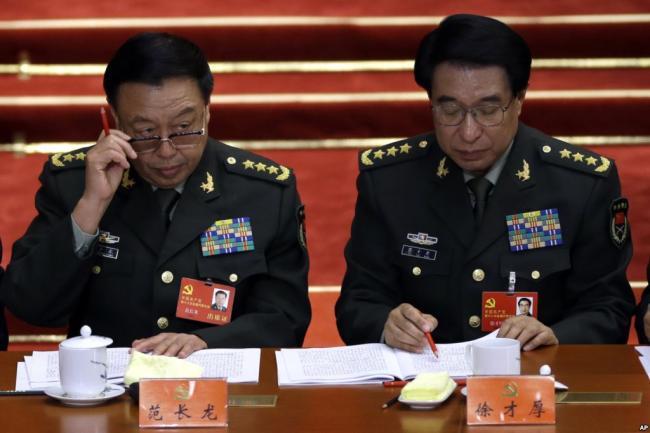 """曝郭伯雄被抓前   找范长龙""""汇报思想"""""""