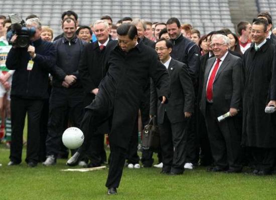 习大大是第一懂球帝   布拉特评各国领导人