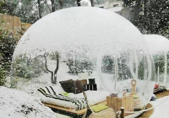 与星辰同眠  全球最美10大露天卧室酒店