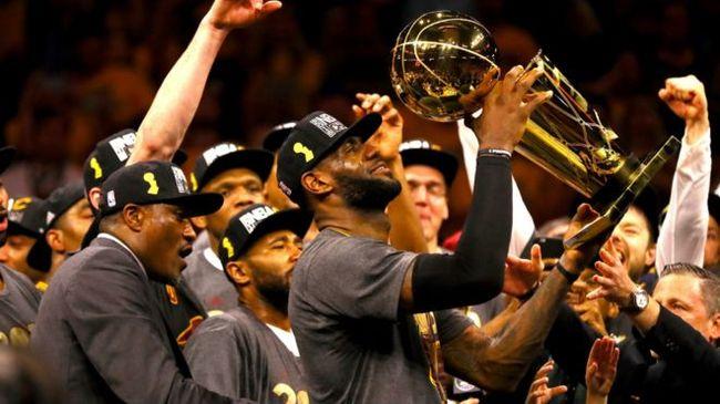 骑士击败勇士  夺该队首座NBA总冠军