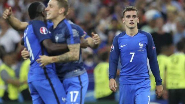 欧锦赛  法国队2比0胜德国进决赛