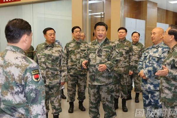 习近平军改 八名太子党履新关键职位