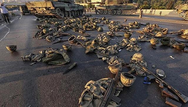近万土耳其政变士兵受折磨 生不如死