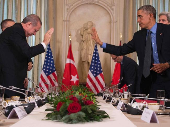 美国四星上将  参与土耳其政变