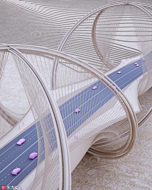 北京将为冬奥会修建这样一张巨大的网兜