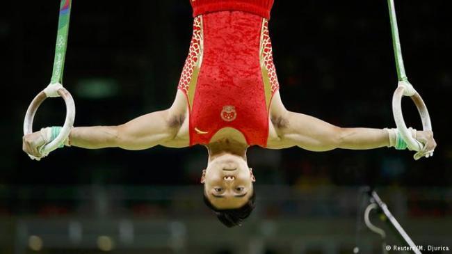 奥运冷门多 中国队怎么了?体操像机器人