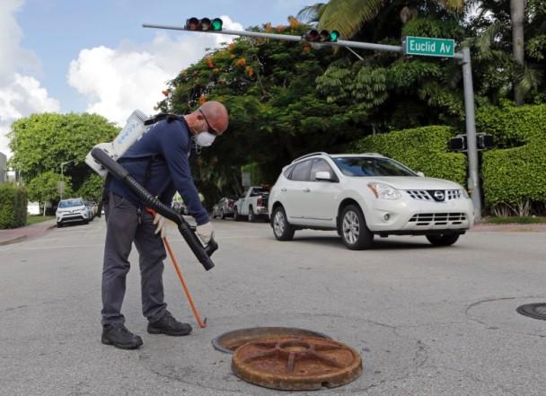 美佛州再爆寨卡病例 首次扩至迈阿密外
