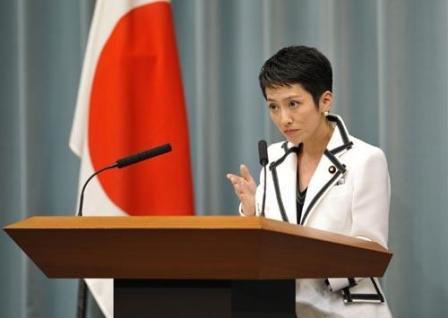 华裔女议员当选日本民进党党首
