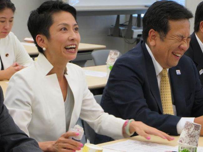 """日民进党魁莲舫称""""台湾非国家"""" 台媒慌了"""