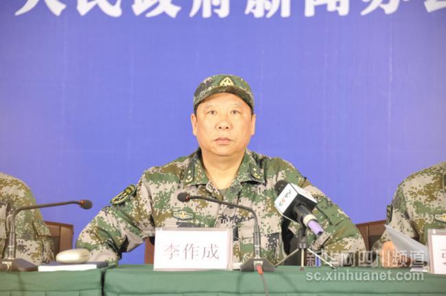 习近平拍板     李作成出任陆军总部司令
