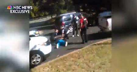 非裔遭枪杀视频公开 妻求警别开枪