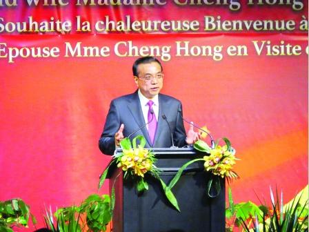 中国大门愈开愈大  期望华人报效祖国
