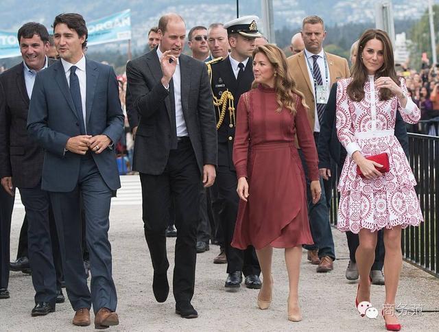 迎战加拿大第一夫人 凯特带了一个造型团队