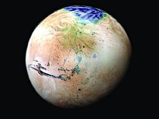 """火星全球探勘者号卫星发现""""火星绿洲"""""""